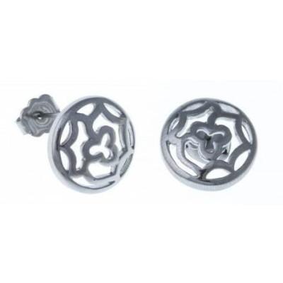 Boucles d'oreille pour femme en acier inoxydable - Irina - Lyn&Or Bijoux