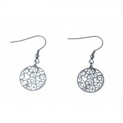 Boucles d'oreilles acier inoxydable - Cyriana