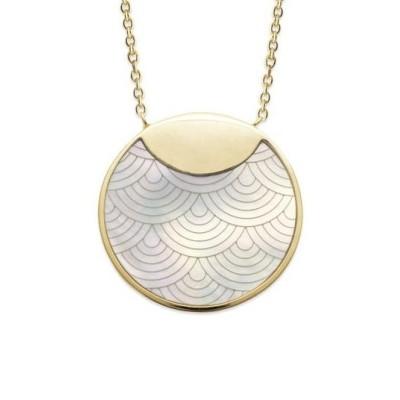 Collier pour femme en plaqué or & Nacre Abalone - Milla - Lyn&Or Bijoux