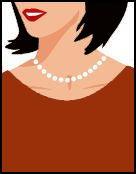 collier ras-de-cou choker pour femme