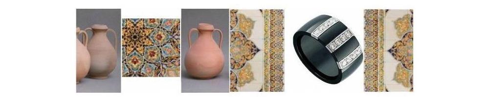 la céramique en bijouterie