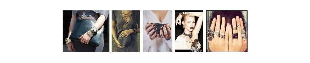 mode femme, accumulez les bijoux