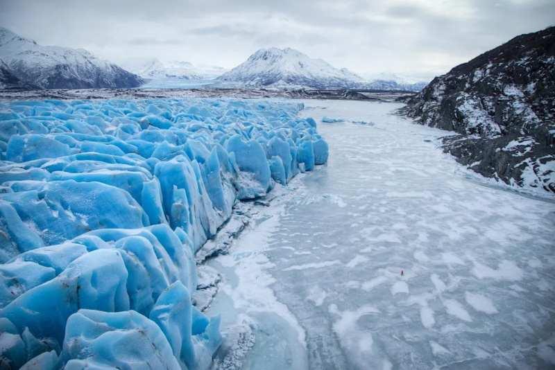 Glacier Knick en Alaska
