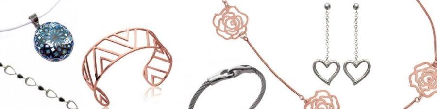 bijoux en acier, bijouterie en ligne