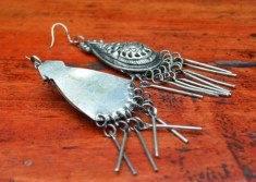 boucles d'oreilles de birmanie
