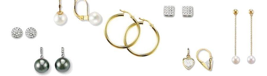 boucles d'oreilles en or pour femme