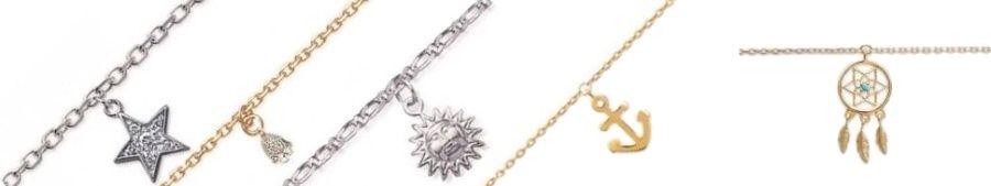 bracelet de cheville femme