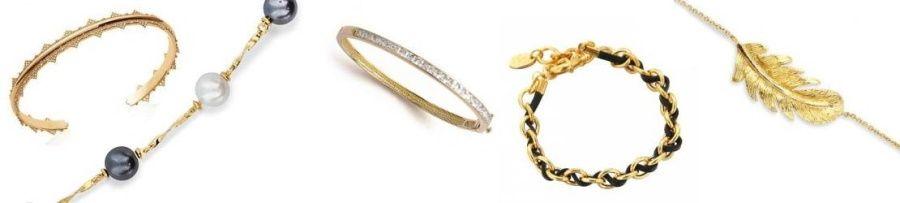 bracelet femme en plaqué or, achat bijou en ligne