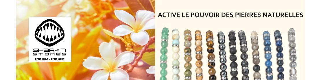 Bijoux Sherk'n Stones en pierres naturelles