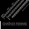 chaînes pour collier et pendentif pour femme