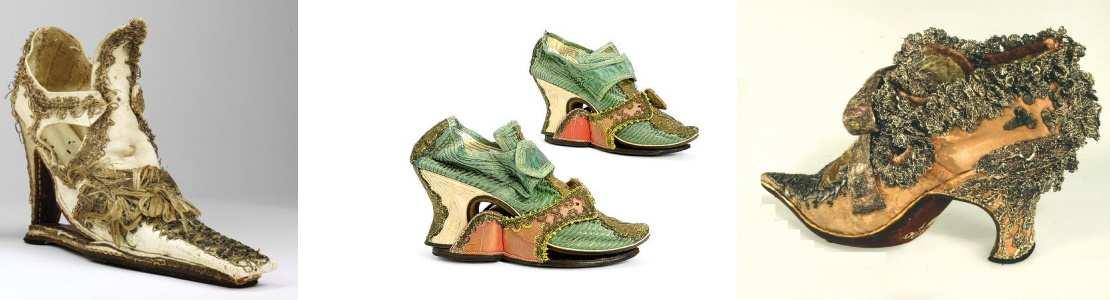 chaussures a talons renaissance