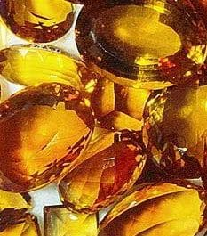 citrine pierre jaune