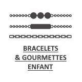 bracelet et gourmette pour enfant