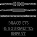 bracelets et gourmettes pour enfant, fille, garçon