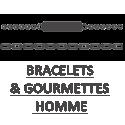bracelets et gourmettes pour homme