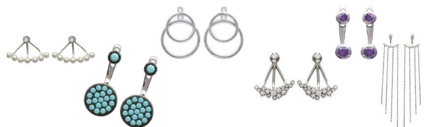 lobes d'oreilles pour femme, bijoux fantaisie
